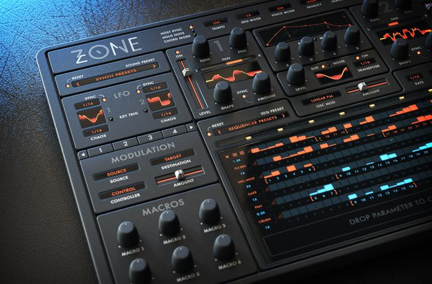 Zone Sound Design Skin GUI