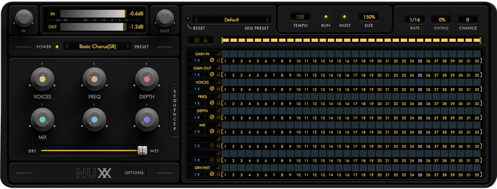 nuxx interface